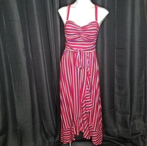 Maeve Dresses - Maeve by Anthropologie small pink combo maxi NWT